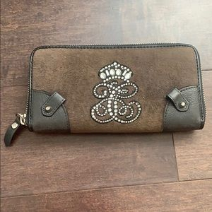 Juicy Couture Velvet Wallet